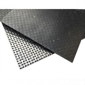 Графитен лист, подсилен с тънък метал
